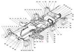 Трубопроводы и шланги гидропневматического привода рабочих тормозов автомобиля Урал 5557-40