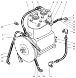 Установка компрессора автомобиля Урал 63685