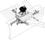 Установка тормозного крана автомобиля Урал 5557-40