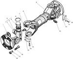 Промежуточный карданный вал автомобиля Урал 4320-31