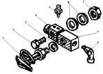 Установка крестовины разбора воздуха автомобиля Урал 4320-41