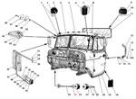 Кабина в сборе автомобиля Урал 4320-41