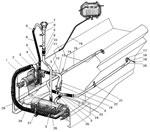 Трубы и шланги системы предпускового подогрева автомобиля Урал 4320-31