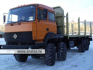 Автомобиль - сортиментовоз для перевозки сортимента длиной 2-6 метра