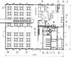 Здание модульное- столовая на 100 посадочных мест из 18 блоков (трассовик 22 стк 100)