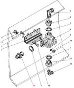 Установка двухмагистрального клапана автомобиля Урал 4320-41
