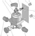 Установка клапана ограничения давления автомобиля Урал 63685
