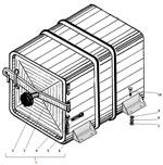 Установка инструментального ящика автомобиля Урал 63685
