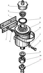 Установка бачка привода сцепления автомобиля Урал 4320-31
