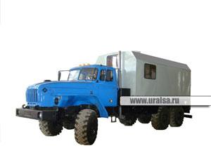 ППУ 1600/100 установка парогенераторная шасси УрАЛ-4320-1951-40 (ЕВРО-2, 6х6)