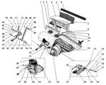 Привод вентиляции и отопления кабины автомобиля Урал 4320-41