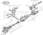 Насос гидроусилителя руля автомобиля Урал 4320-31