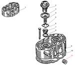 Головка компрессора автомобиля Урал 4320-41