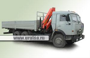 Автомобиль бортовой КАМАЗ 53215 с КМУ Palfinger PK 15500 /PK 10000/