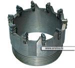 Коронки твердосплавные d=59-172 мм