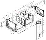 Основной топливный бак автомобиля Урал 4320-41