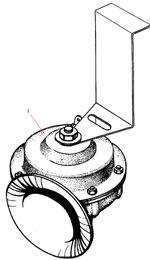 Установка электрического сигнала автомобиля Урал 4320-41