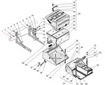 Установка контейнера аккумуляторных батарей автомобиля Урал 63685