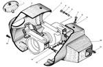 Установка выключателя зажигания и переключателя указателей поворота на рулевой колонке автомобиля урал 4320-31