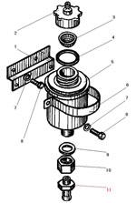 Установка бачка привода сцепления автомобиля Урал 43206-41
