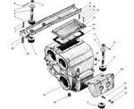 Картер и подвеска раздаточной коробки автомобиля Урал 43206-41