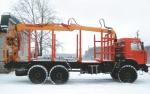 Синегорец-110 с грейфером для металлолома