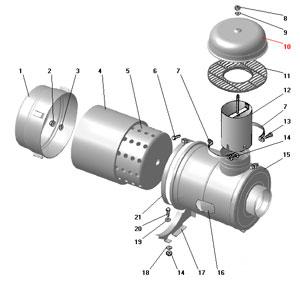 Фильтр воздушный автомобиля Урал 4320-41