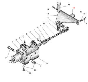 Установка крана управления давлением автомобиля Урал 4320-41