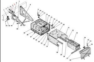Установка аккумуляторных батарей автомобиля Урал 4320-41