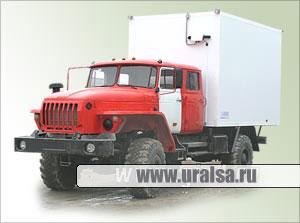 Автофургон на базе Урал-4320-1912-40