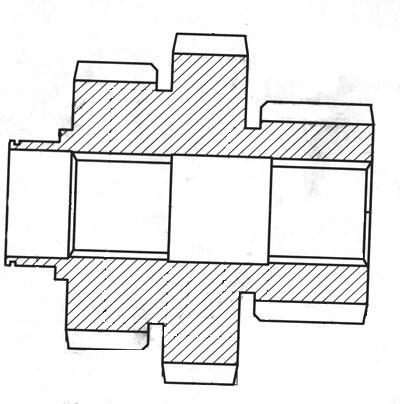 блок шестерня 2-37-107