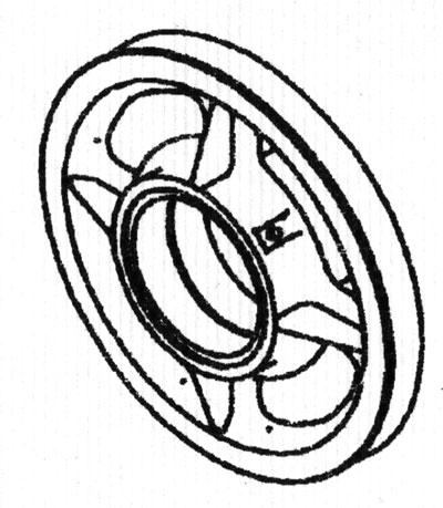 Ролик кранблока 2-3-101